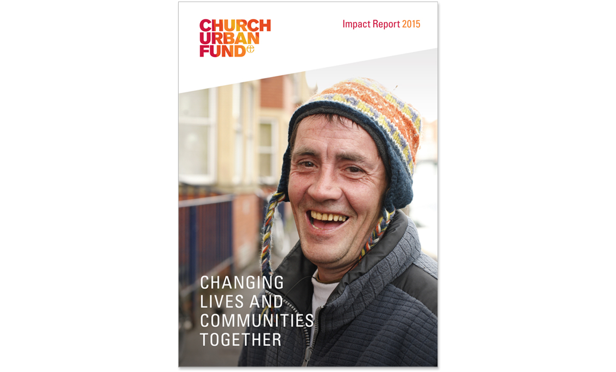 Church Urban Fund impact report F/C – copywriting and creative direction