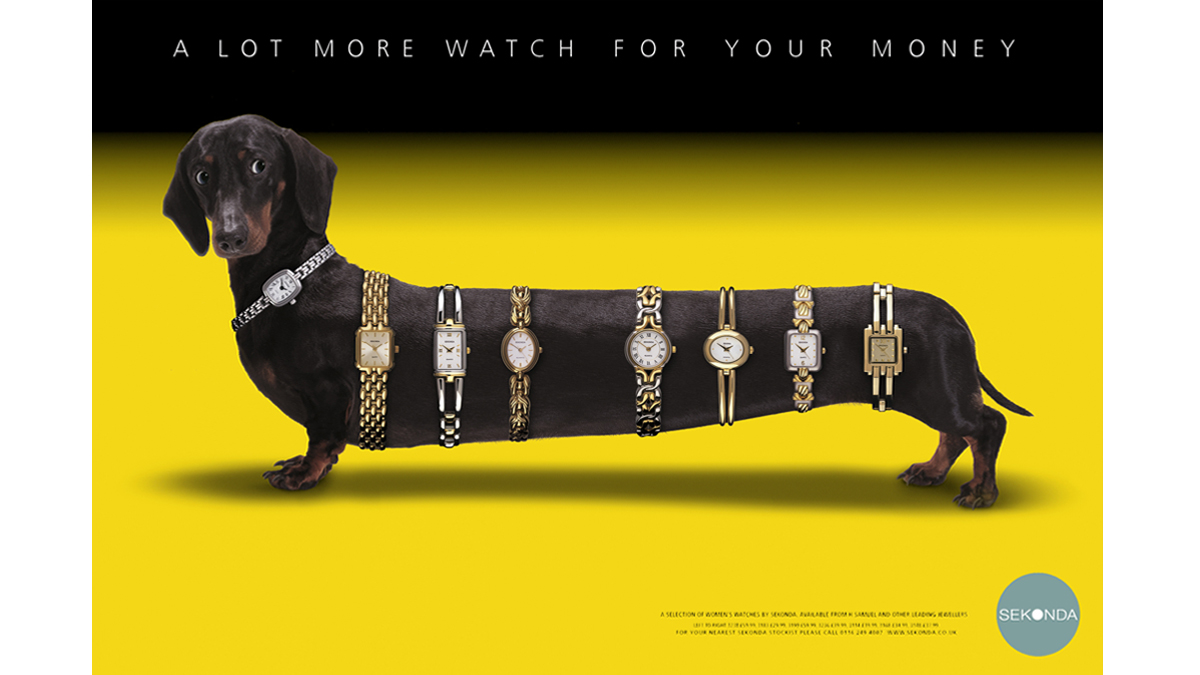 Sekonda Dog – concept, copywriting and art direction