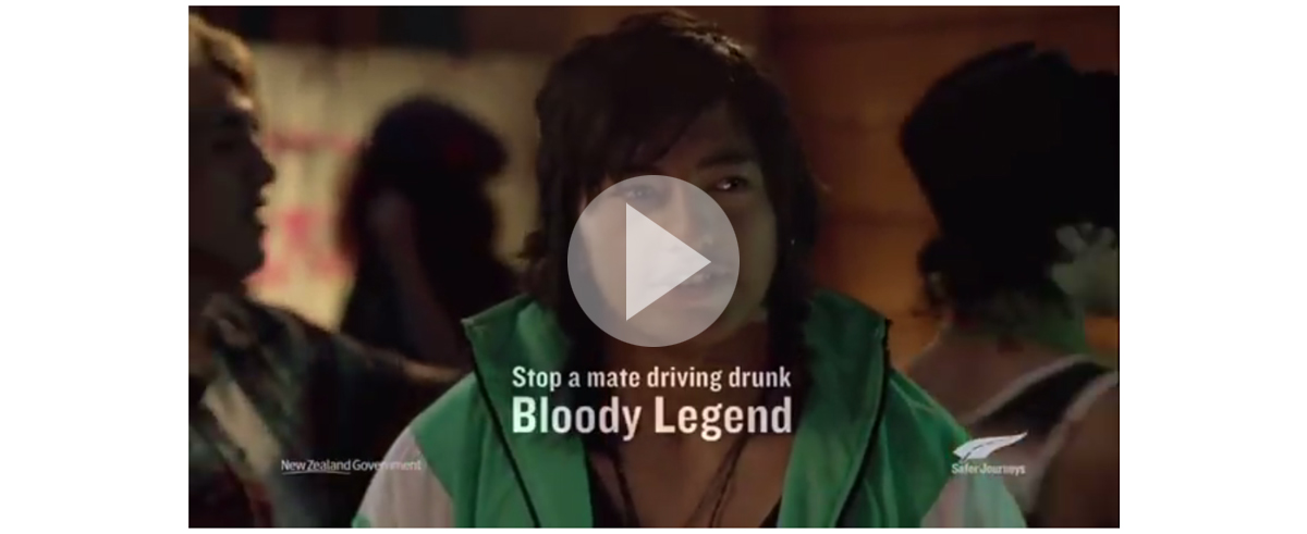 Bryce Groves Advertising Art Director – NZ Anti-Drink Driving
