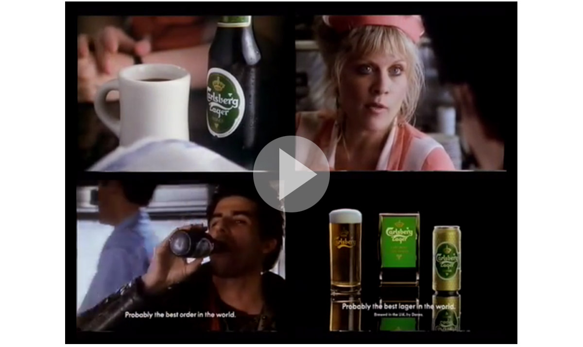 The Blog of Jonathan Wilcock Freelance Copywriter Jim Archer Carlsberg TV commercial