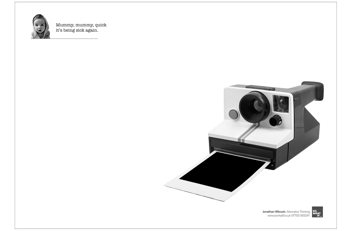 Copywriting: worst client in the world – polaroid