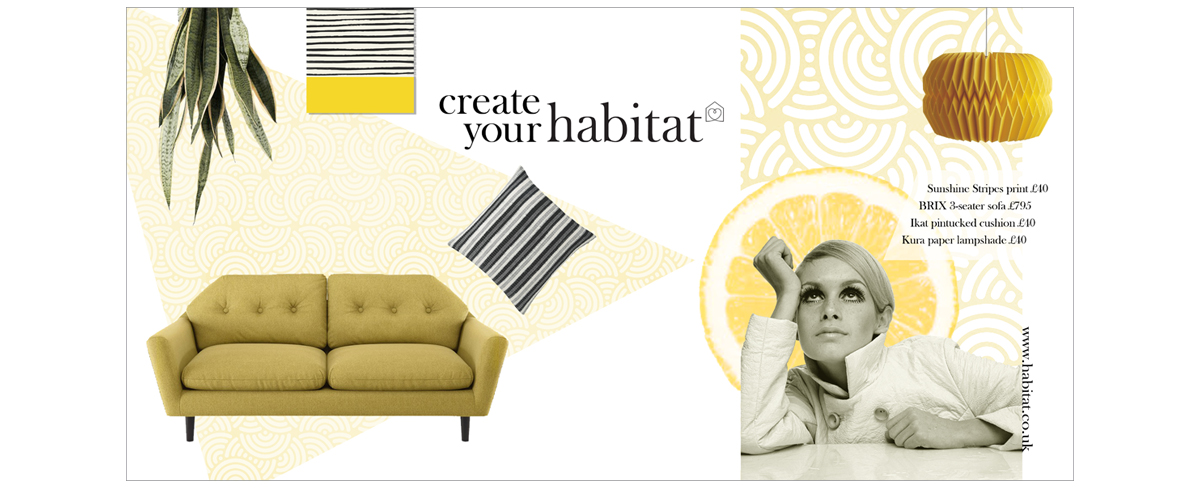 Habitat Campaign concepts 4 – copywriting and art direction Jonathan Wilcock